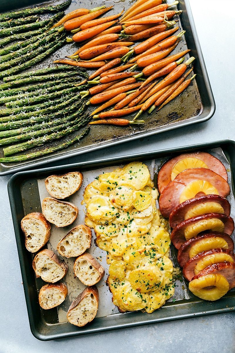 One Hour Sheet Pan Dinner