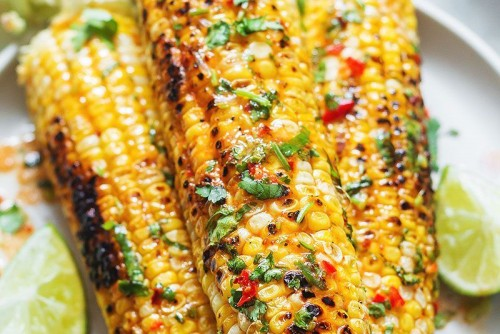 Grilled Chili Lime Butter Corn on the Cob (2)